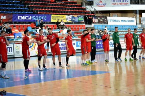 Handbaliştii de la CSM Oradea joacă la Sebeş