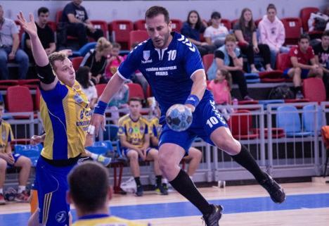O nouă victorie pentru handbalişti: CSM Oradea - AHC Potaissa II Turda 30-27 (FOTO)