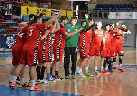 Handbaliştii de la CSM Oradea joacă duminică, acasă, cu CNE Sighişoara
