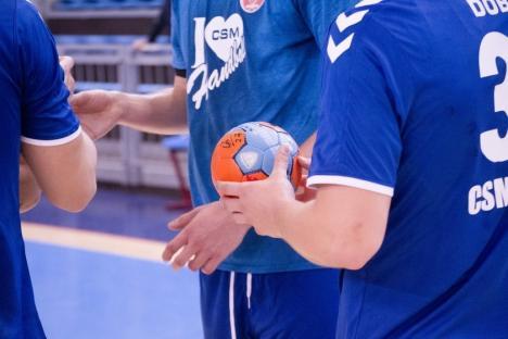 CSM Oradea va întâlni CSU Pitești în șaisprezecimile de finală ale Cupei României la handbal masculin