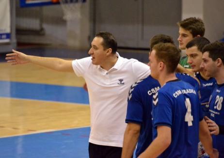 Handbaliştii de la CSM Oradea evoluează duminică la Cluj