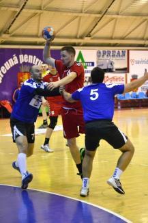 Victorie importantă, la Sebeş, pentru handbaliştii de la CSM Oradea (FOTO)