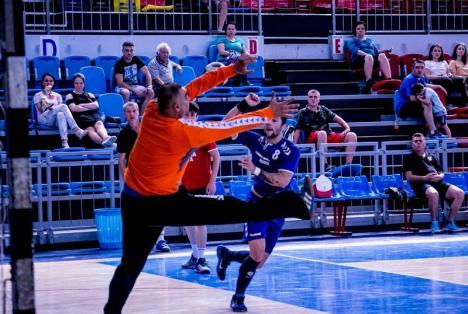 Primul eșec pentru handbaliștii de la CSM Oradea: 24-30, la Sighișoara
