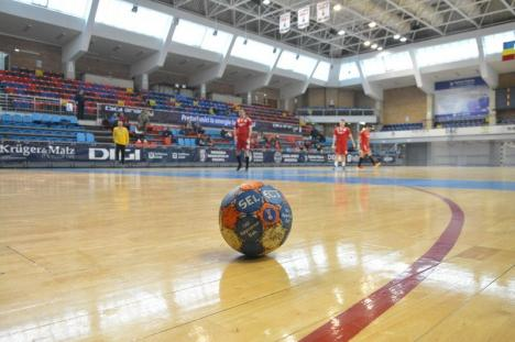 Handbaliştii de la CSM Oradea au câştigat clar şi jocul de la Timişoara cu CSU Politehnica