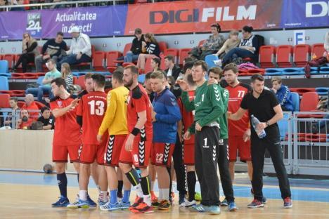 Handbaliştii de la CSM Oradea încheie seria jocurilor amicale acasă, cu Universitatea Cluj
