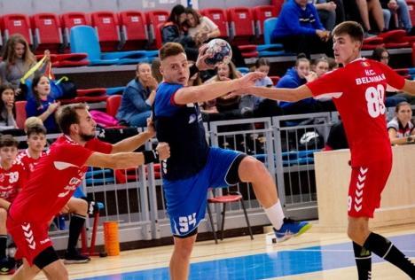 Victorie în ultima secundă pentru handbaliştii de la CSM Oradea în derby-ul de la Craiova (VIDEO)