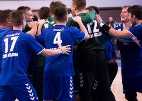 Handbaliștii de la CSM Oradea încep returul de campionat duminică, la Baia Mare