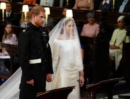 'Arăţi minunat!' Prinţul Harry al Marii Britanii s-a căsătorit cu actiţa Meghan Markle