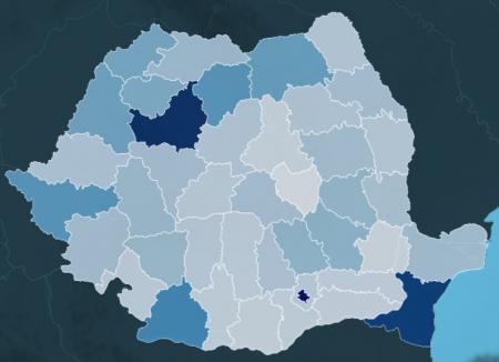 Harta proiectelor: Cum stă Bihorul în clasamentul naţional al investiţiilor şi care e suma totală a proiectelor în derulare din judeţ