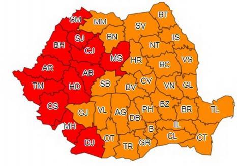 COD ROŞU de caniculă în Bihor: Temperaturile ar putea ajunge la 50 de grade!