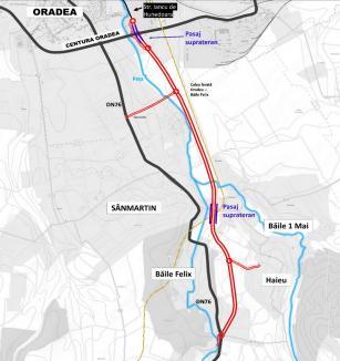 Varianta lungă a şoselei Oradea – Sânmartin, aprobată de Consiliul Judeţean. Va costa 44 de milioane de euro(VIDEO)