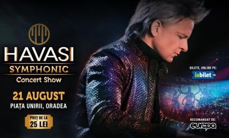 Havasi Symphonic Concert Show: Cel mai spectaculos concert de pian din lume ajunge la Oradea (VIDEO)