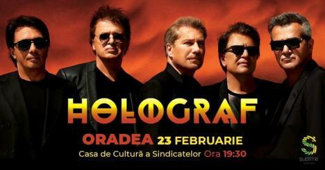 Holograf anunţă un super-concert la Oradea