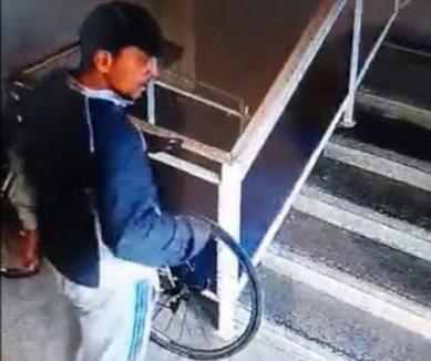 Hoţ trimis în arest pentru 30 de zile: A furat 5 biciclete într-o singură săptămână (VIDEO)