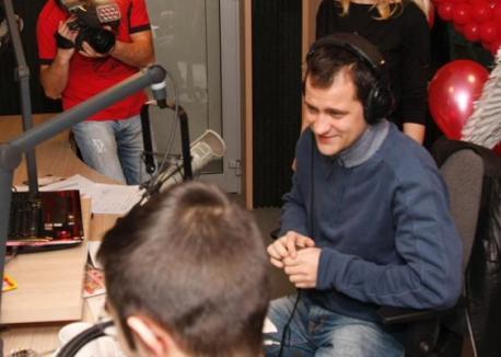 Şerban Huidu şi-a reîntâlnit colegii de la Kiss FM (FOTO)