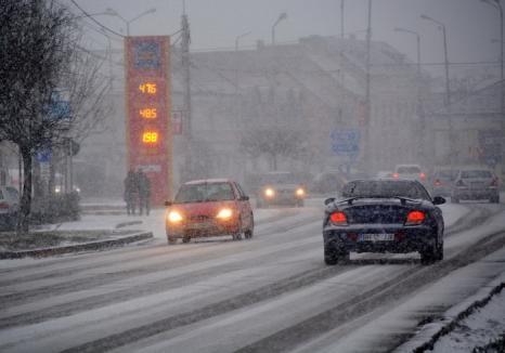 Scăderi de 15 grade, de la o zi la alta: Ne aşteaptă o iarnă imprevizibilă, cu viscol puternic şi ninsori abundente