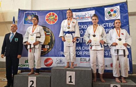 Medalii de aur, argint și bronz pentru sportivele judoka de la Crișul Oradea