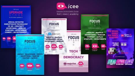 Vezi aici agenda iCEE.fest! Un festival major dedicat tehnologiei și Internetului începe săptămâna viitoare, la București