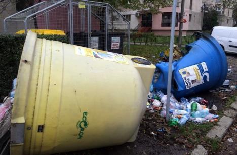 Adio, igluuri! Containerele tip clopot vor dispărea de pe străzile Oradiei