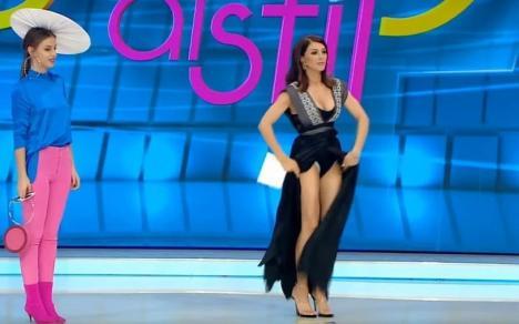 Ilinca Vandici, vedetă în tabloidele internaţionale: a apărut în fundul gol la TV (FOTO / VIDEO)