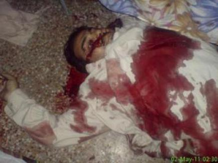 Imagini şocante cu bărbaţii ucişi în atacul asupra lui Osama ben Laden (FOTO)