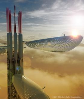 Un arhitect român va proiecta o construcţie SF în Taiwan