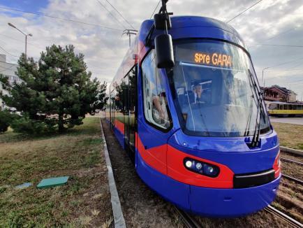 Al 17-lea tramvai Imperio a ajuns în Oradea