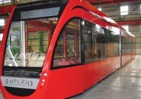 "Siemens face la Arad tramvaiul ""Imperio"", cu doar 1,7 milioane de euro garnitura"