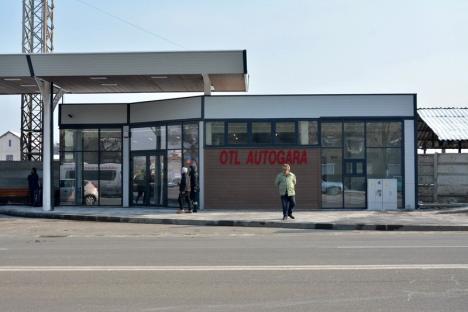 Se deschide autogara OTL de pe Ştefan cel Mare. Investiţia s-a ridicat la un milion de lei (FOTO)