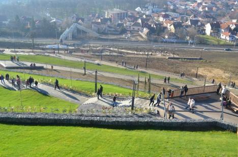 Grădina publică Ciuperca a fost dată în folosinţă în mod oficial. Vezi cum arată! (FOTO / VIDEO)