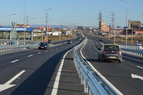 Drum bun! Pasajele pe care şoseaua de centură supratraversează DN 76 şi DN 79 au fost finalizate (FOTO/VIDEO)
