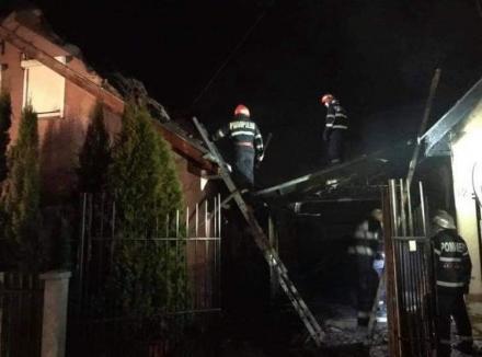 De ce au luat foc casele din cartierul Habitat Beiuş. Concluziile pompierilor (FOTO / VIDEO)