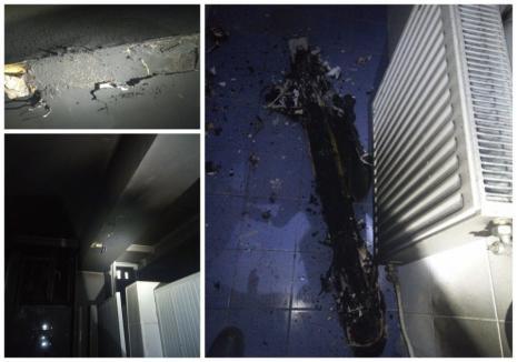 Incendiu la Spitalul CFR din Cluj Napoca, la nici 10 zile după tragedia din Piața Neamț (FOTO)