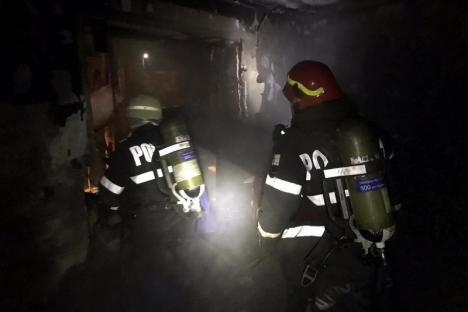 ISU Crişana: 5 incendii într-o singură zi în Bihor, toate provocate de coşurile de fum (FOTO)