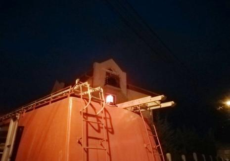Ziua incendiilor, în Oradea: La doar o oră de la incendiul din Decebal, încă unul la un bloc pe strada Ion Bogdan