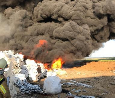 Urmările incendiilor de la Nojorid: Amenzi mari și un punct de lucru închis de Garda de Mediu Bihor!