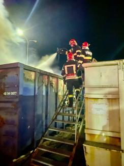 Incendiu în curtea unei case din Oradea. Pompierii au reuşit să salveze câinele familiei, dar nu şi 10 găini (FOTO / VIDEO)