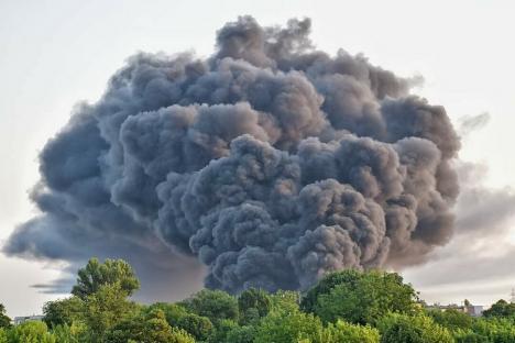 La casa de nebuni: Incendiatorul depozitului de deşeuri plastice din Salonta nu mai este în arest