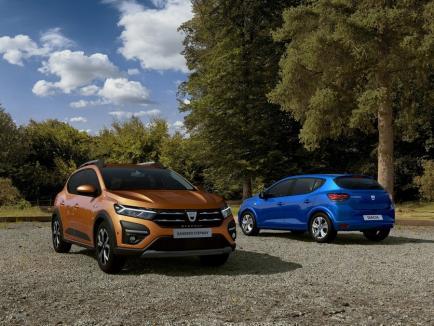 Inspirație de la Lamborghini? Primele imagini cu noile Dacia Logan, Sandero și Stepway (FOTO)