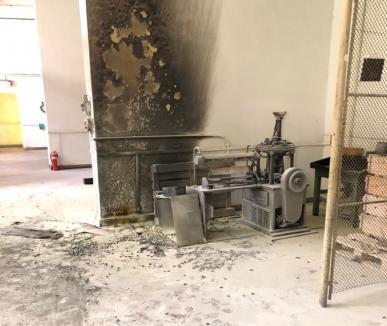 Explozie la fabrica de armament de la Cugir. Două persoane rănite (FOTO / VIDEO)