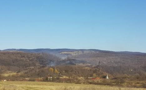 Șase incendii de vegetație în weekend: Au ars 22 de hectare de teren