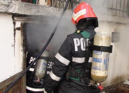 Incendiu la fabrica Zahărul, provocat de un scurtcircuit
