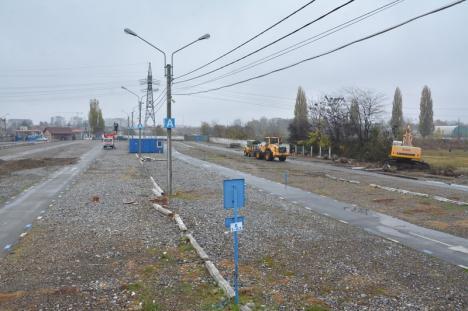 Dărâmă gardul! Au început lucrările la sala polivalentă cu 5.000 de locuri din Oradea (FOTO/VIDEO)