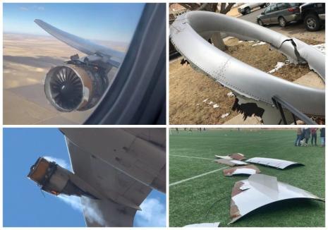 Coincidenţă stranie: Două explozii la două avioane Boeing au creat panică în Olanda şi SUA (FOTO / VIDEO)