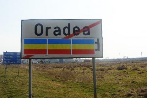 Denumirile maghiare, scoase de pe indicatoarele unor localităţi din Bihor. UDMR a sesizat Poliţia