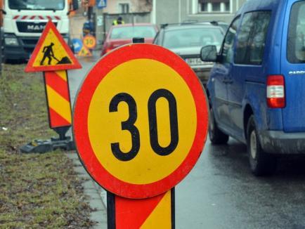 Vremea şantierelor. Străzile George Coşbuc şi Căprioarei se închid pentru lucrări la reţele