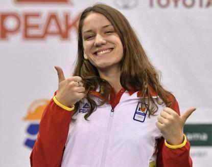 Huszár Ingrid a obţinut patru medalii de aur şi două de argint la Cupa României la înot