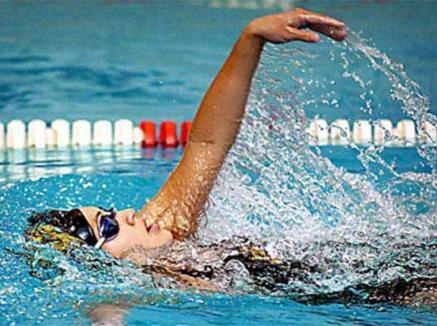 Concurs internaţional de înot la Bazinul Olimpic