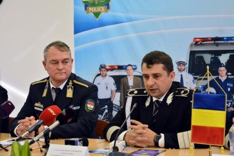 300 de amenzi într-o zi: Poliţiştii români şi maghiari au împânzit şoselele de pe graniţă (FOTO)