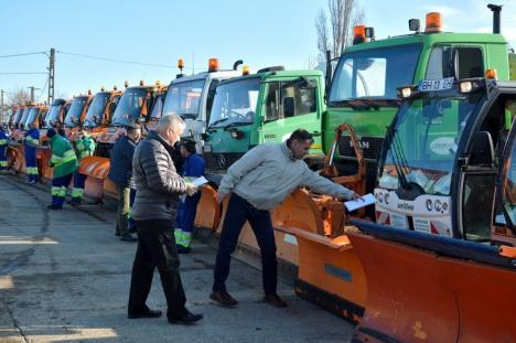 Mai mult decât i s-a cerut: RER Vest a pregătit de iarnă 40 de utilaje, peste necesarul impus de Primăria Oradea (FOTO/VIDEO)